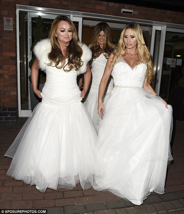 katie price wedding dresses photo - 1