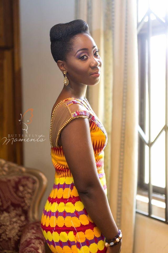 kente wedding dresses photo - 1