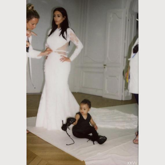 kims wedding dresses photo - 1