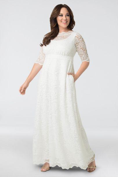 kiyonna plus size wedding dresses photo - 1