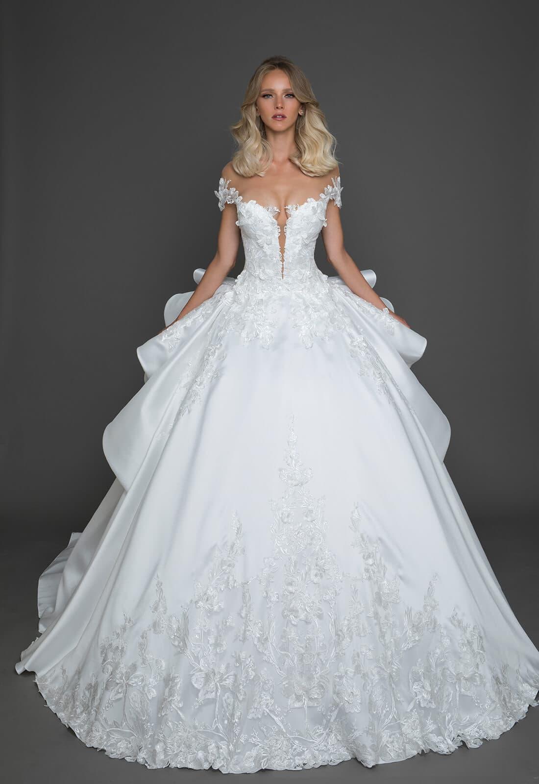 kleinfeld plus size wedding dresses photo - 1