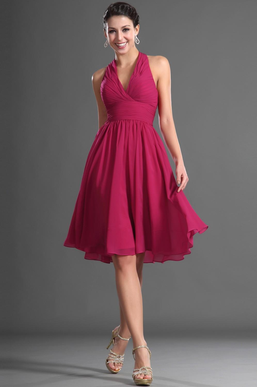 knee length evening dresses photo - 1
