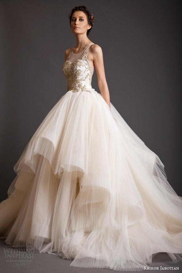 krikor jabotian wedding dresses photo - 1