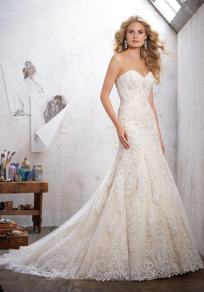 lace beach wedding dresses photo - 1