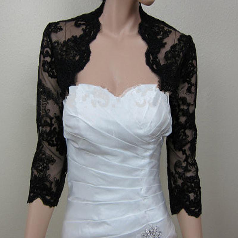 lace boleros for wedding dresses photo - 1