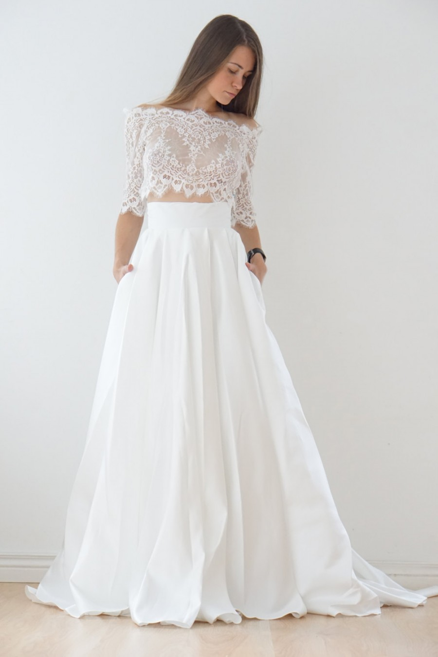 lace casual wedding dresses photo - 1