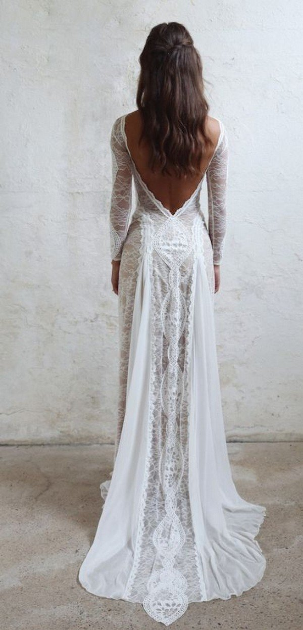 lace country wedding dresses photo - 1