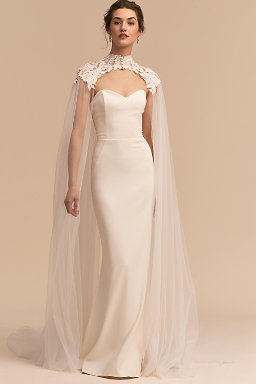 lace cover ups for wedding dresses photo - 1