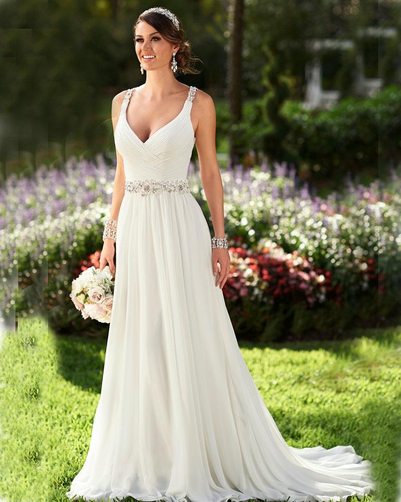 lace high neck wedding dresses photo - 1