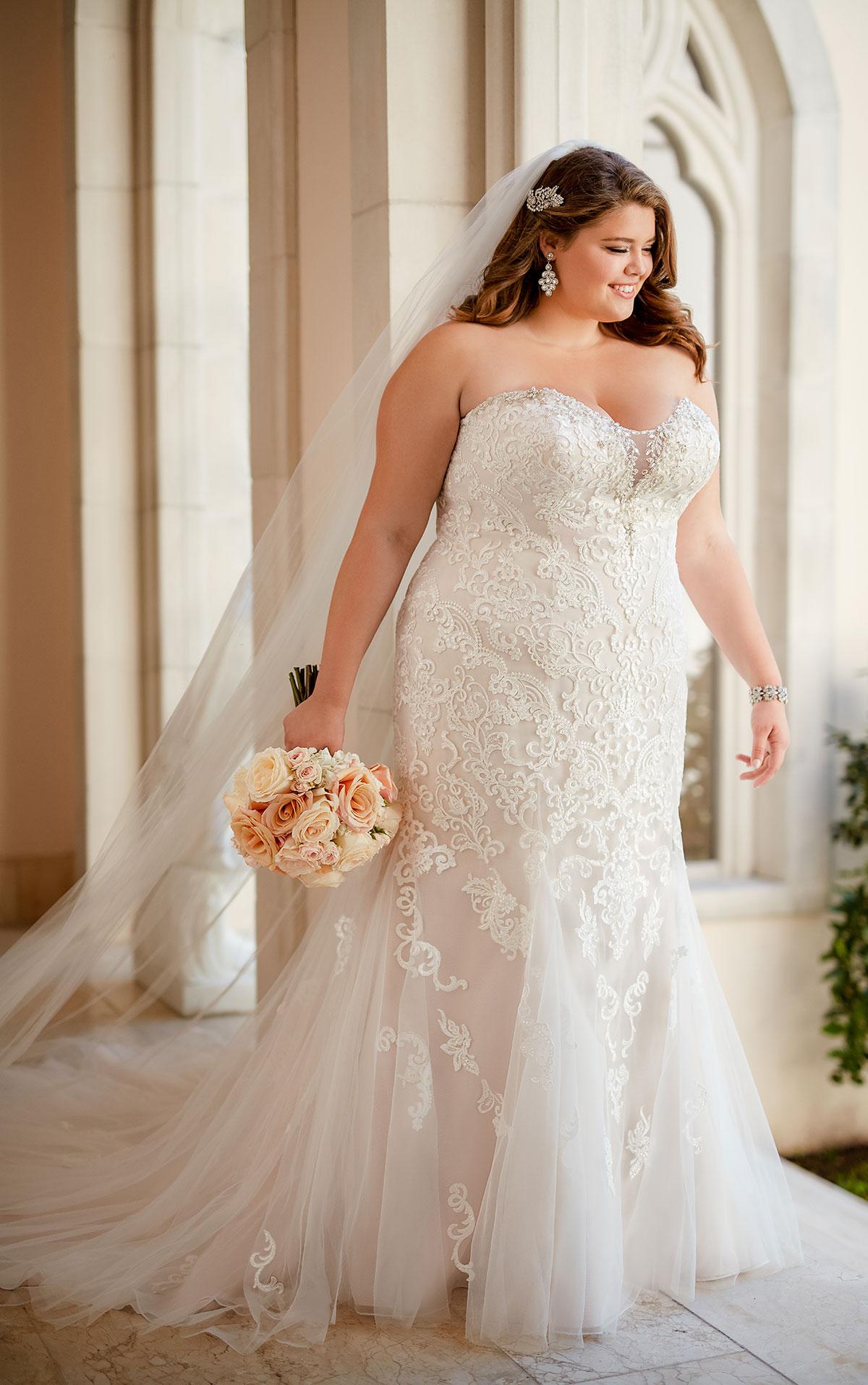 lace plus size wedding dresses photo - 1