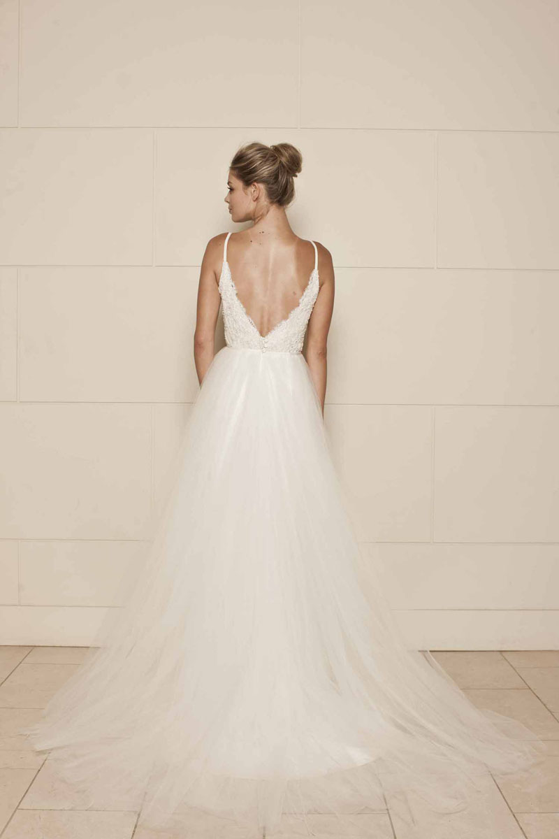 lace strapped wedding dresses photo - 1