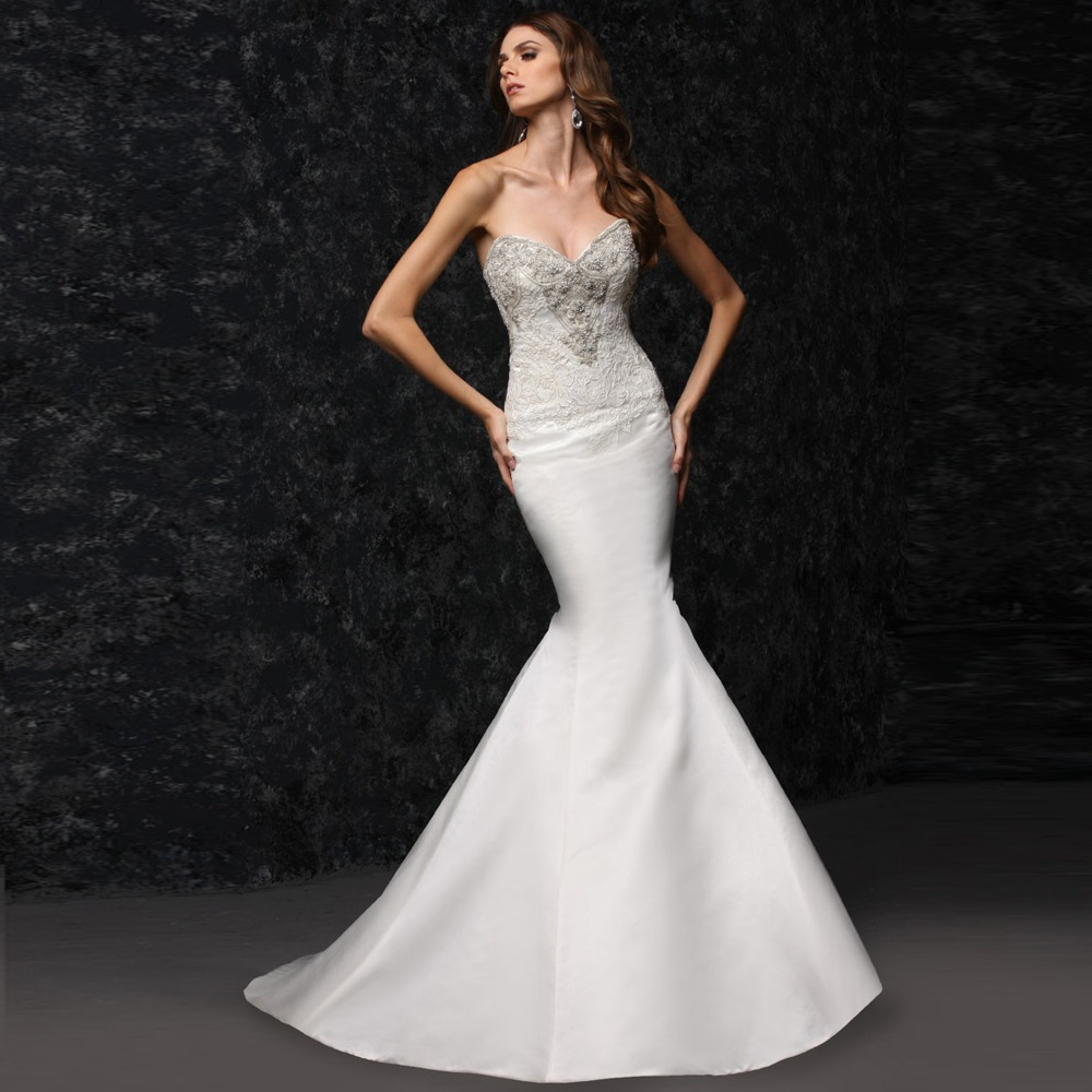 lace tight wedding dresses photo - 1