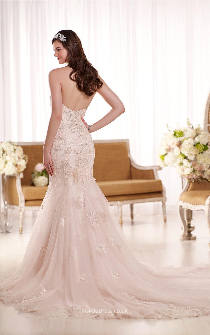 lace up back wedding dresses photo - 1