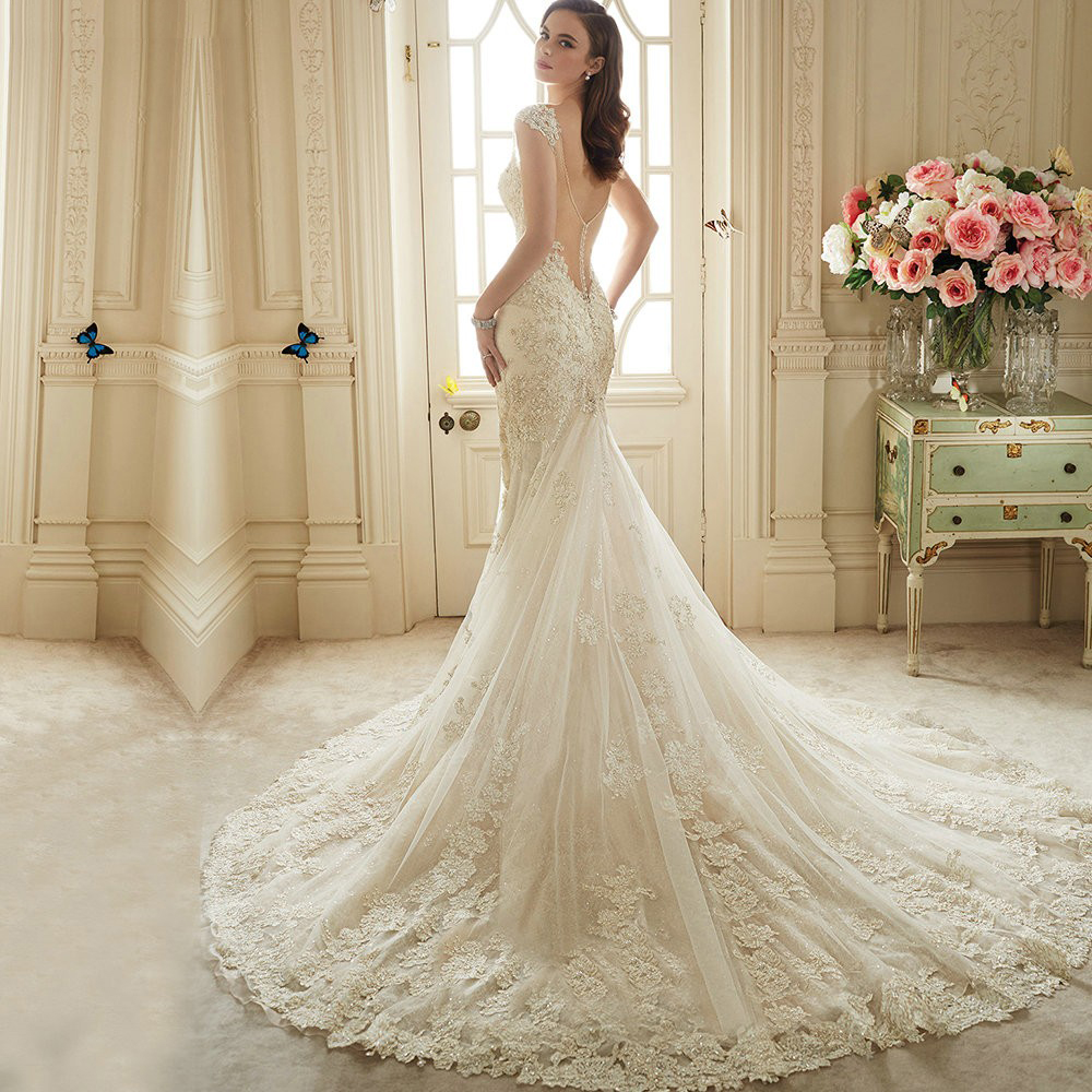 lace wedding dresses 2016 photo - 1