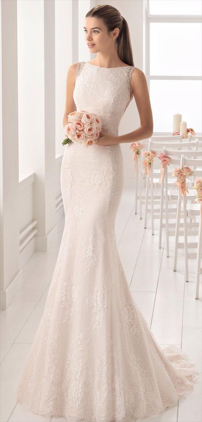 lace wedding dresses 2017 photo - 1