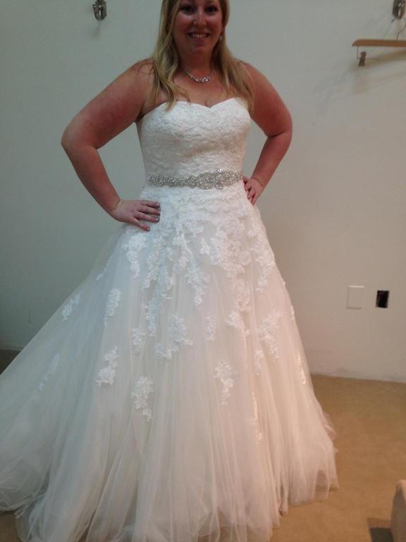 lace wedding dresses plus size photo - 1