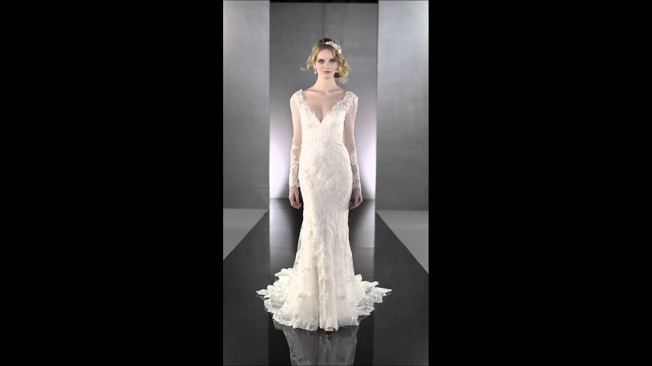 lace wedding dresses sweetheart neckline photo - 1