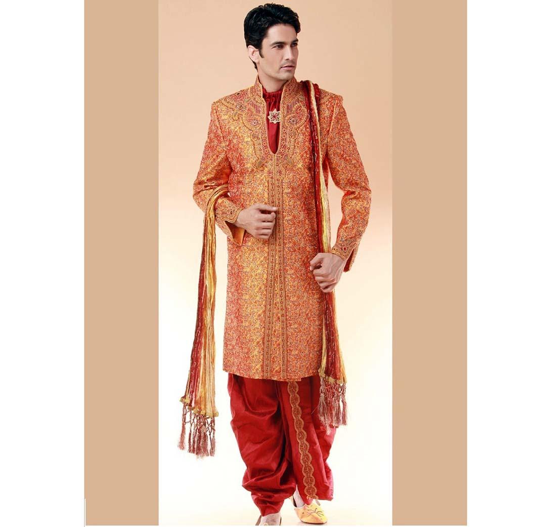 latest wedding dresses for men photo - 1