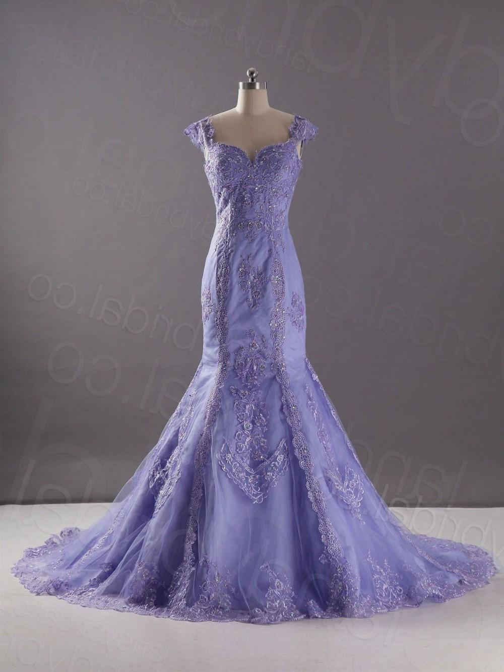 lavender wedding dresses for sale photo - 1