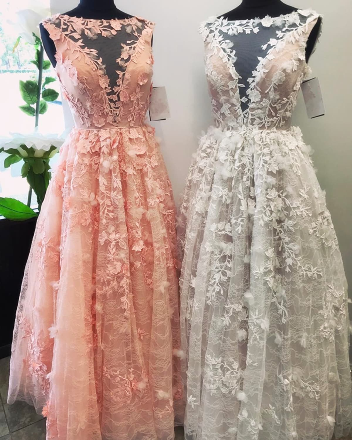Used Plus Size Ball Gowns: Light Pink Plus Size Wedding Dresses