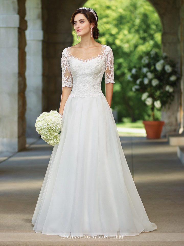 lightweight wedding dresses photo - 1
