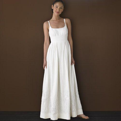 linen wedding dresses summer photo - 1