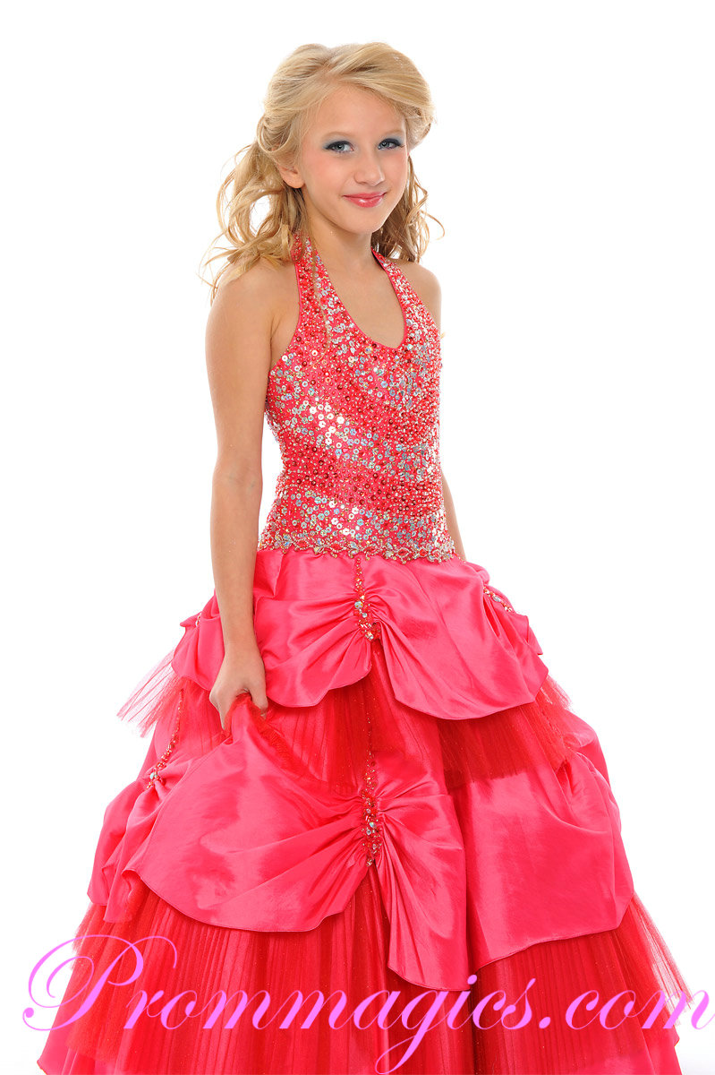 little girl evening dresses photo - 1