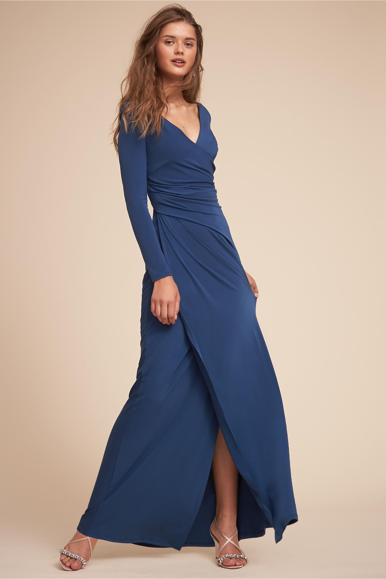 long dresses for wedding guest photo - 1