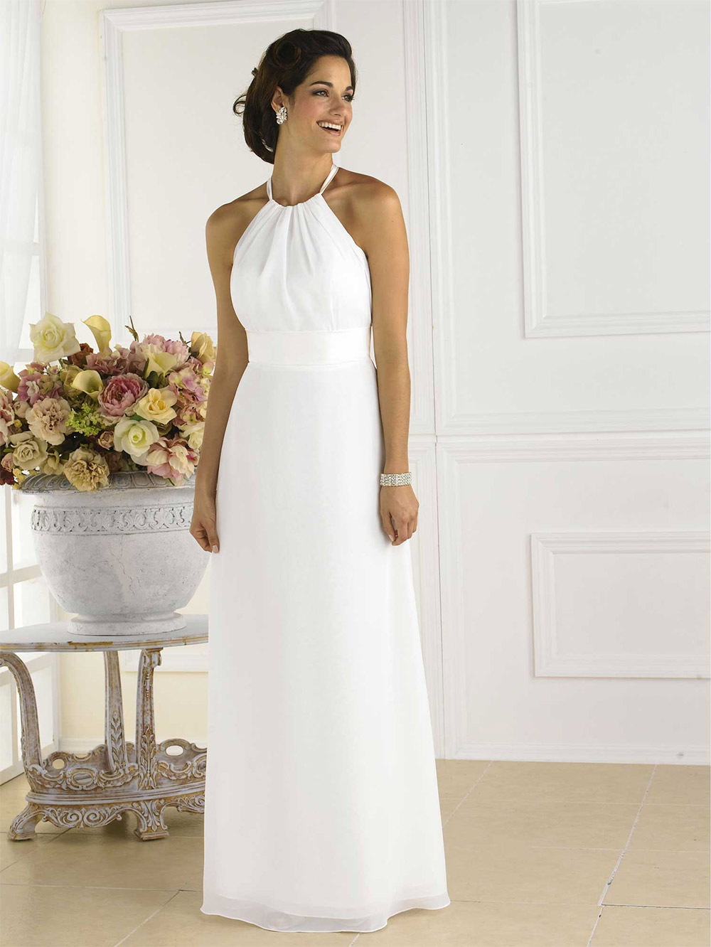 long dresses for wedding guests photo - 1