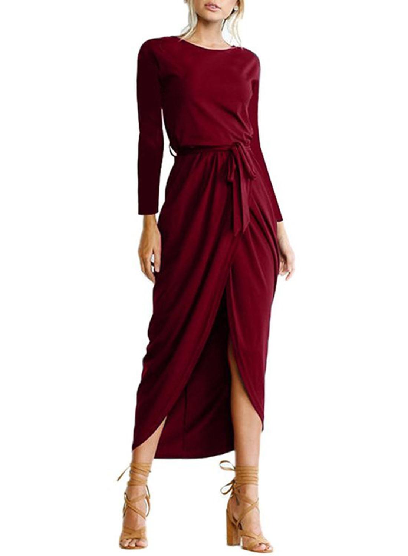 long sleeve elegant dresses photo - 1