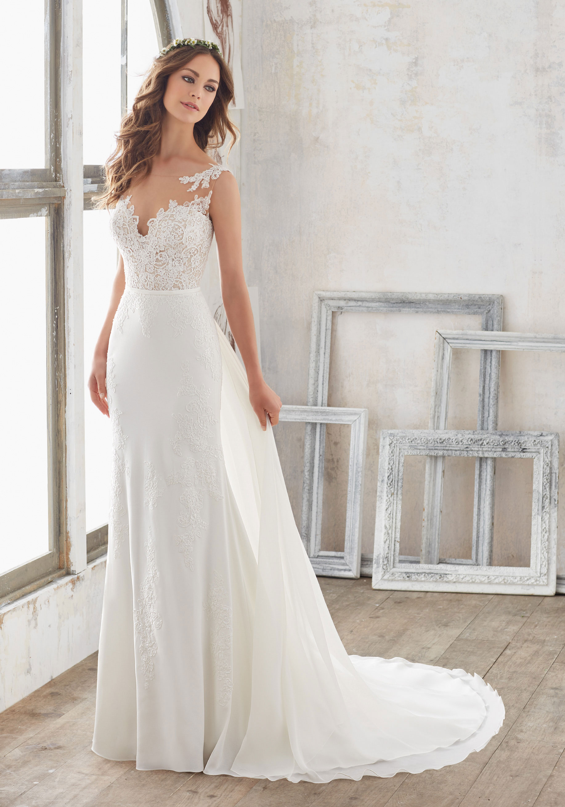 long sleeve wedding dresses under 1000 photo - 1