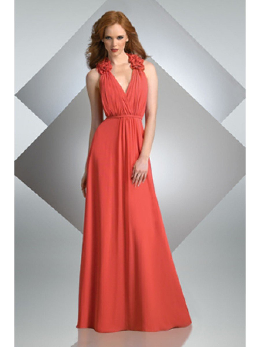 long wedding dresses for guests photo - 1