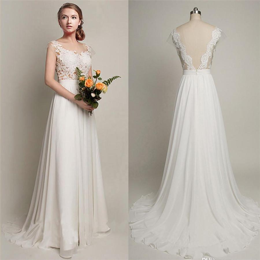 low key wedding dresses photo - 1