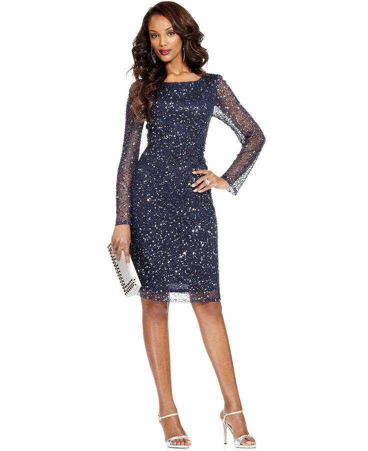 macys petite evening dresses photo - 1