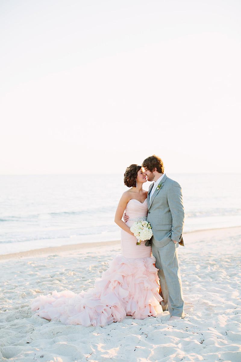 maggie sottero blush wedding dresses photo - 1