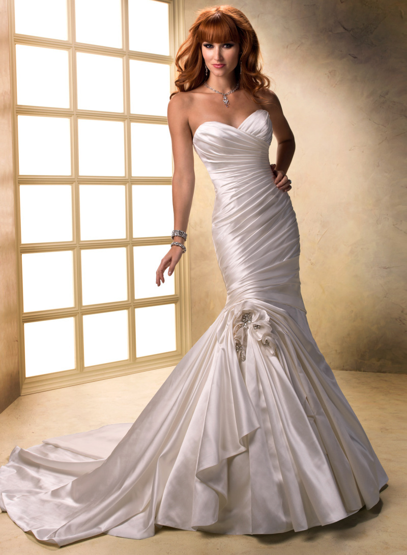maggie sottero wedding dresses sale photo - 1