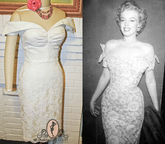 marilyn monroe inspired wedding dresses photo - 1