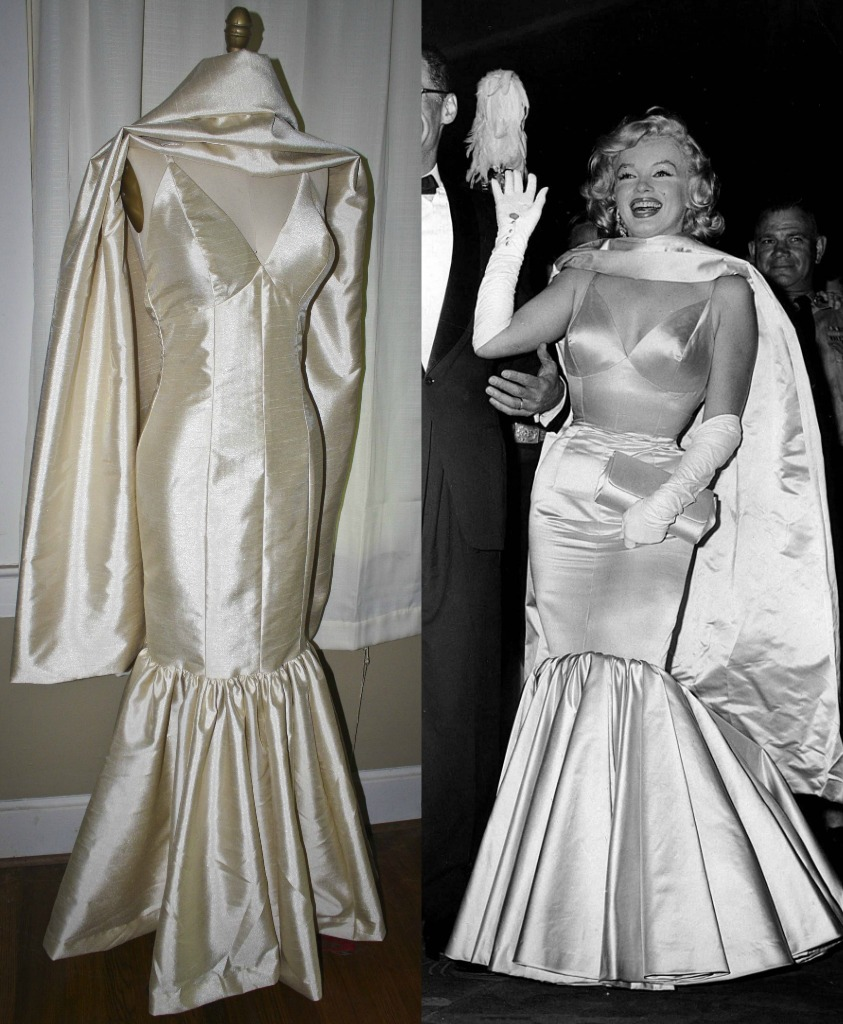 marilyn monroe style wedding dresses photo - 1