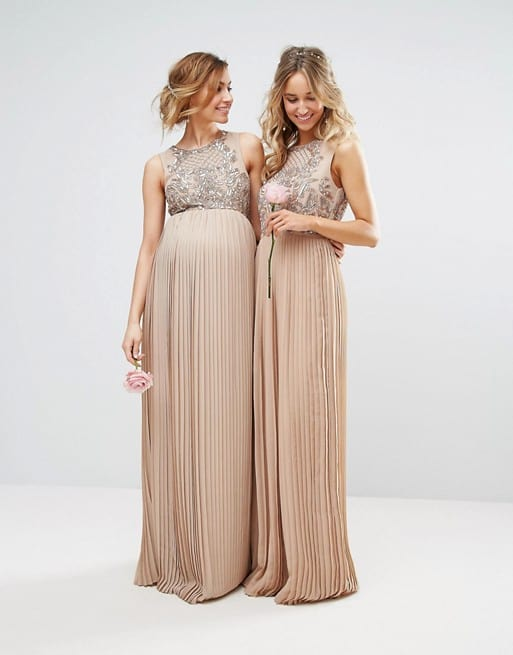 maternity dresses for wedding photo - 1