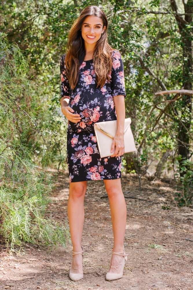 maternity dresses for wedding guest photo - 1