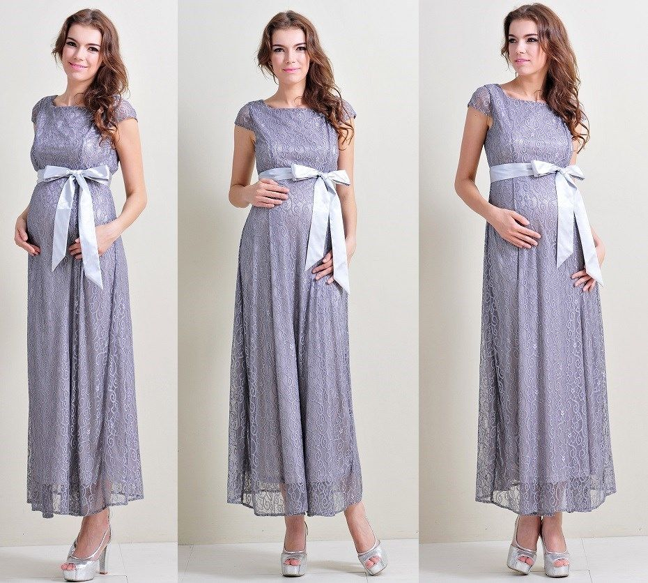 maternity dresses for wedding party photo - 1