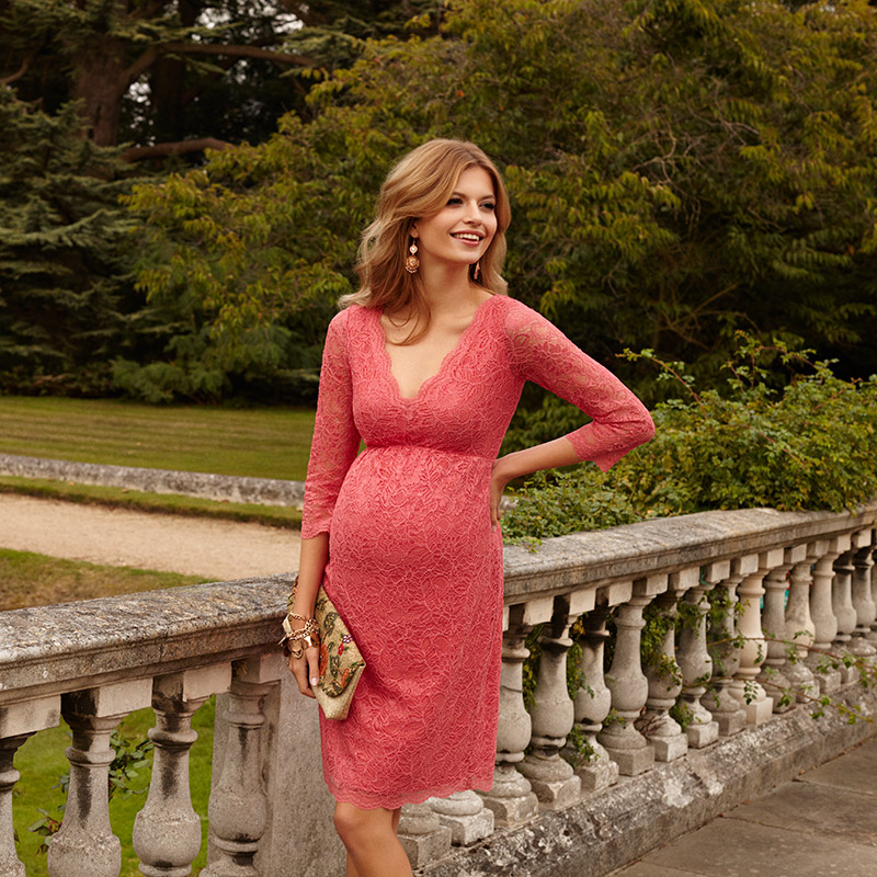 maternity dresses wedding guest photo - 1