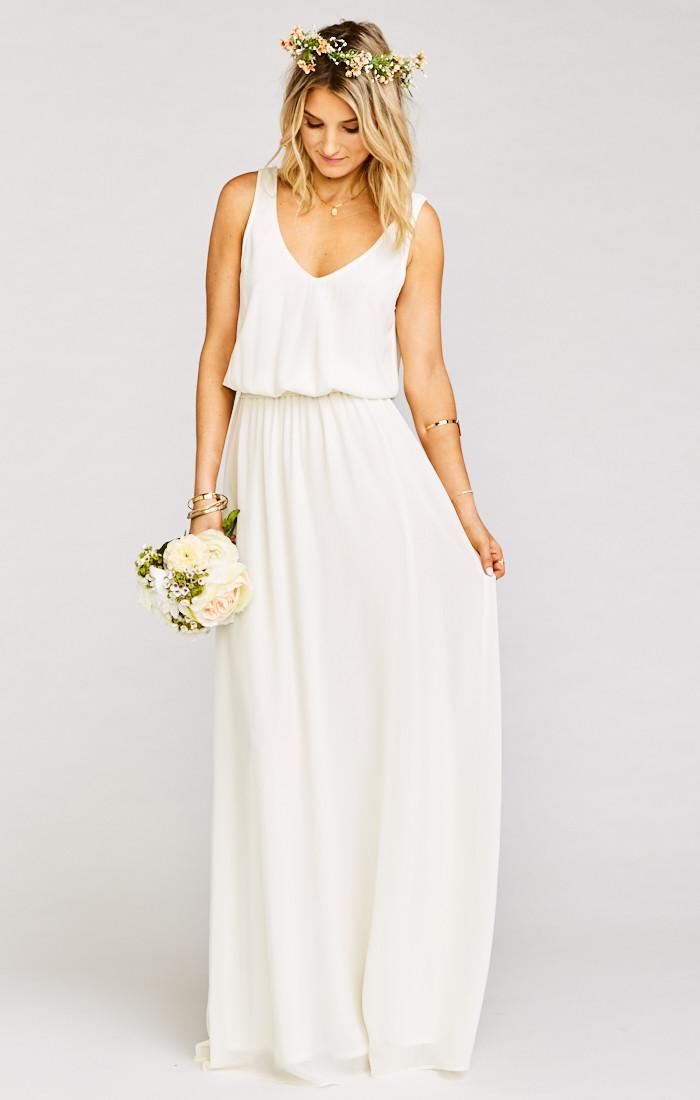 maxi dresses for a wedding photo - 1