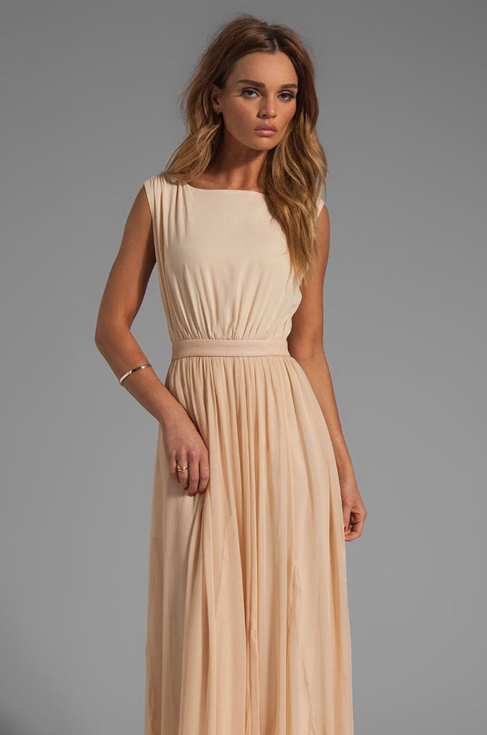 maxi dresses for wedding guest photo - 1