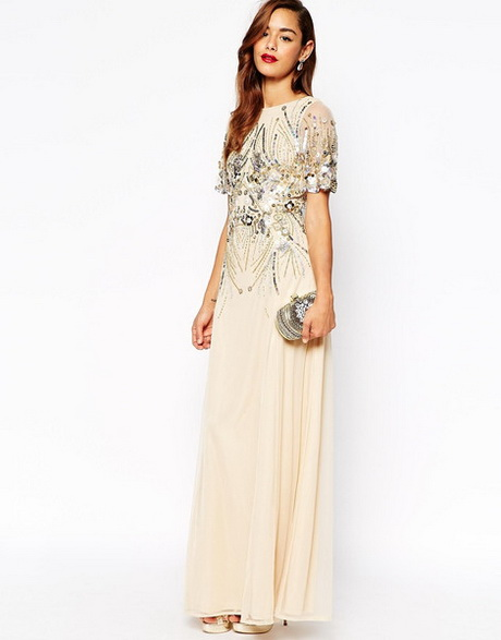 maxi dresses for wedding guests photo - 1