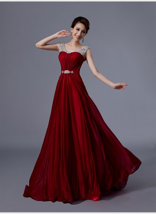 maxi style wedding dresses photo - 1