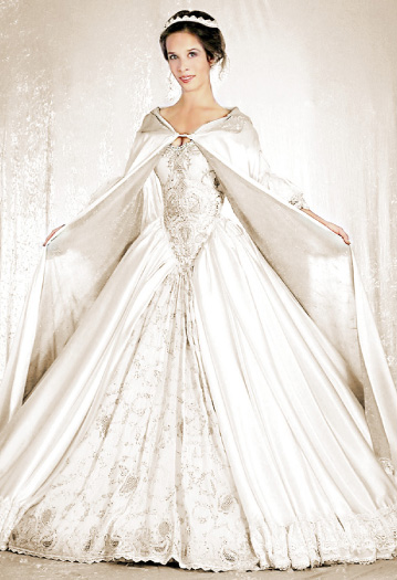 medieval inspired wedding dresses photo - 1