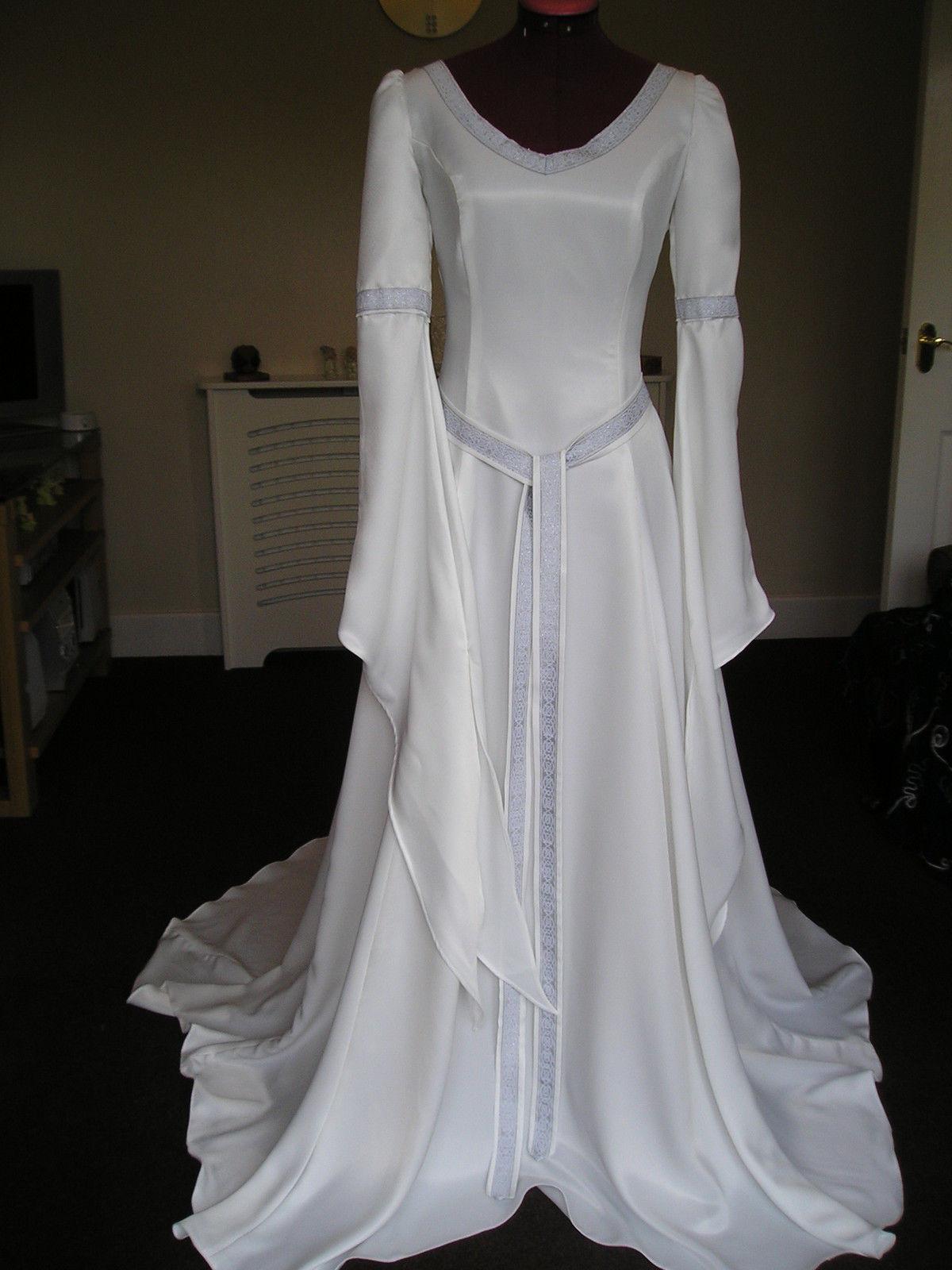 medieval wedding dresses for sale photo - 1