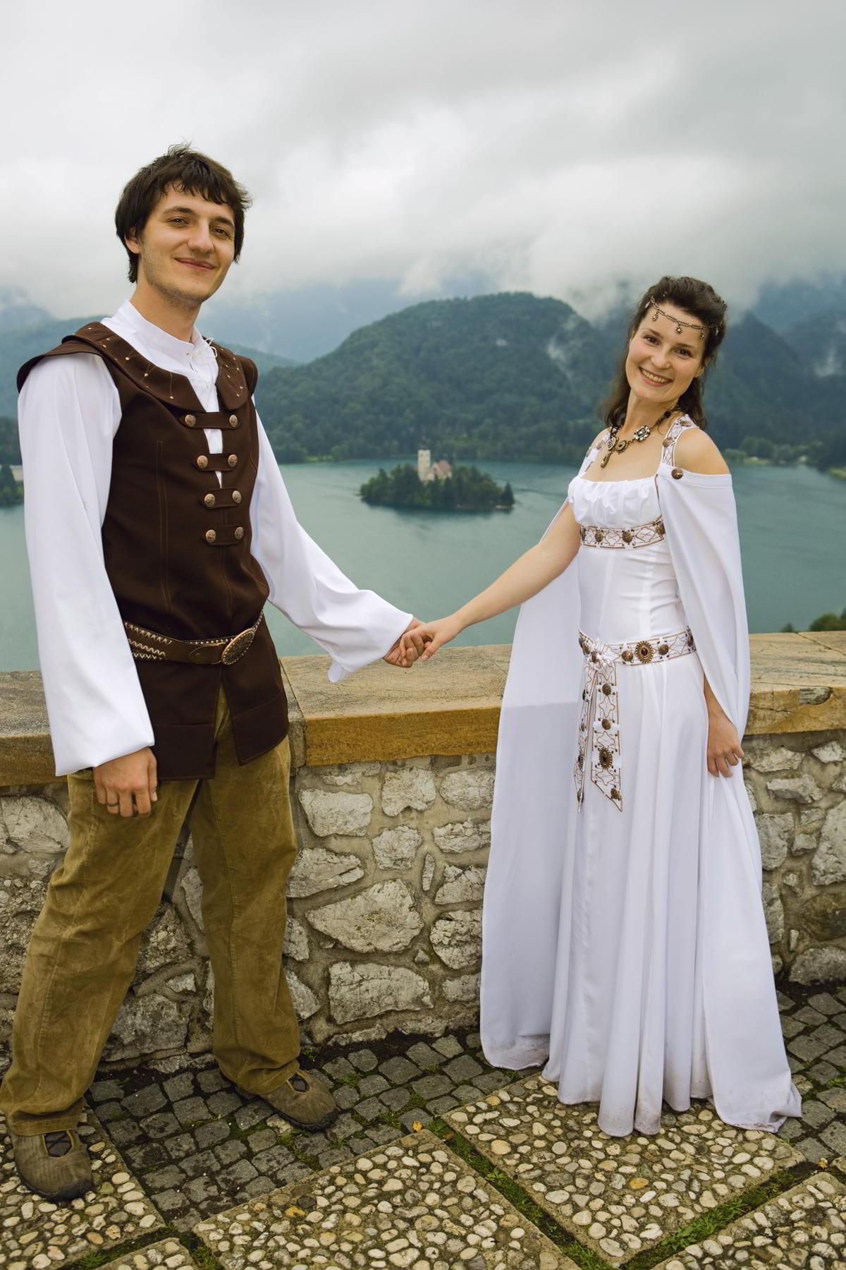 medieval wedding dresses patterns photo - 1