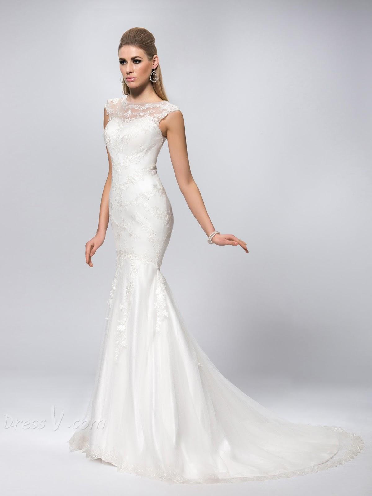 mermaid tail wedding dresses photo - 1